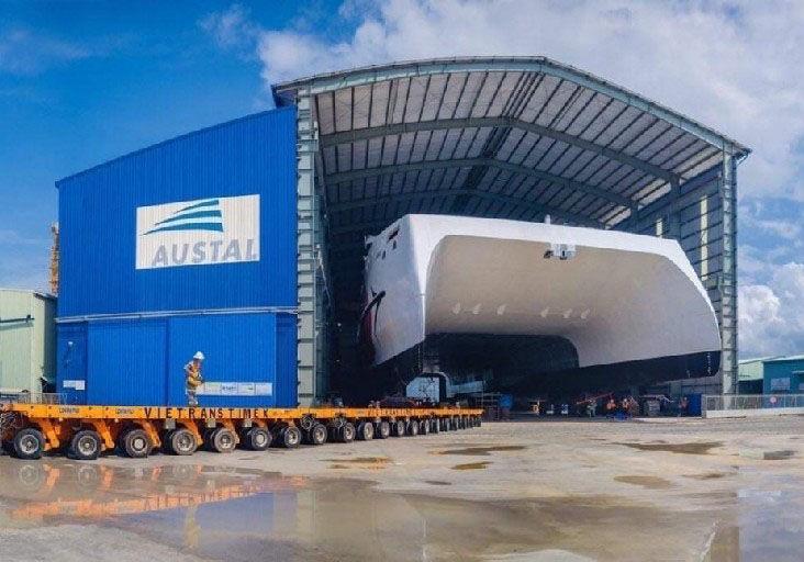 High-speed catamaran coming