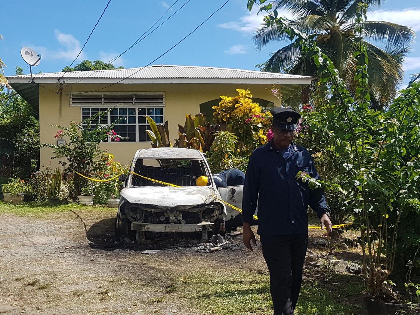 Tobago arson