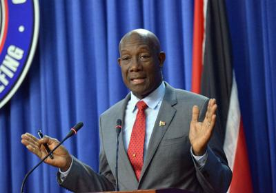 Dr Keith Rowley--USE
