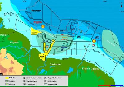 Guyana gears up for first oil