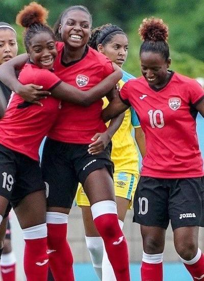 The Trinidad and Tobago women