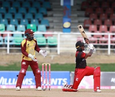 T&T Red Force opening batsman Tion Webster