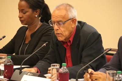 Chairman of SporTT Douglas Camacho