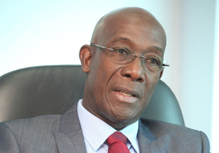 Prime Minister: Dr Keith Rowley