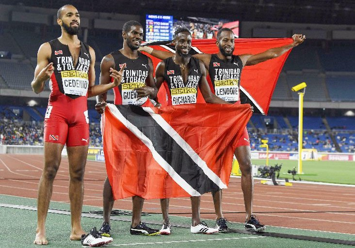 Image result for trinidad won relays