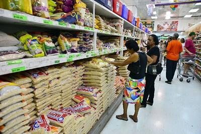 Increases in local food prices