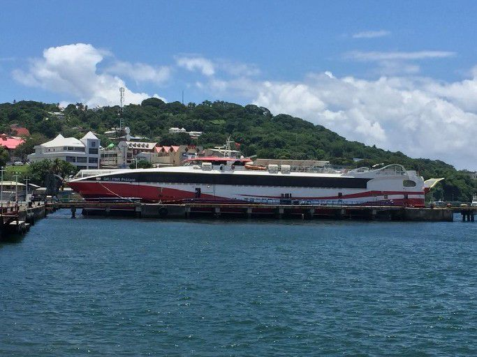 4.5 hours from Trinidad but could not dock | Local News ...
