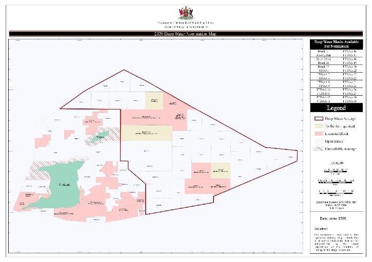 Deepwater nomination map