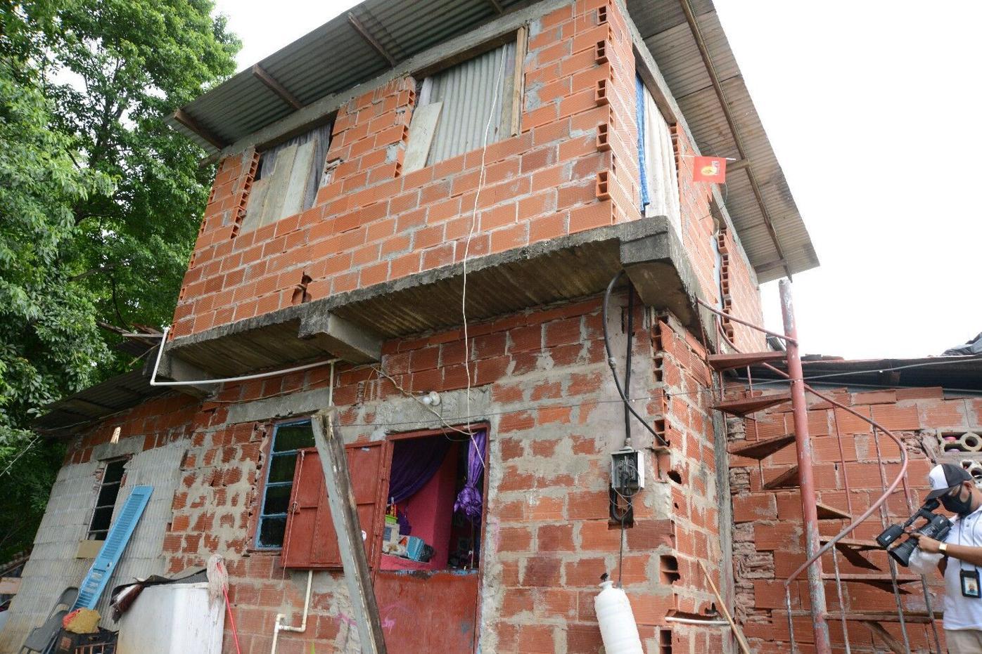 The house where Sherian Huggins was chopped.jpg
