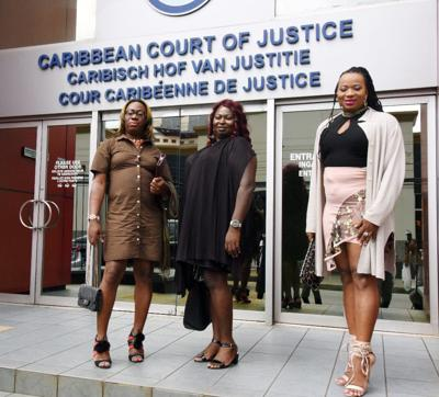 Three of the four transgender women