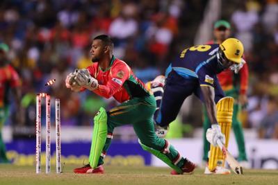 Barbados Tridents' Jason Holder