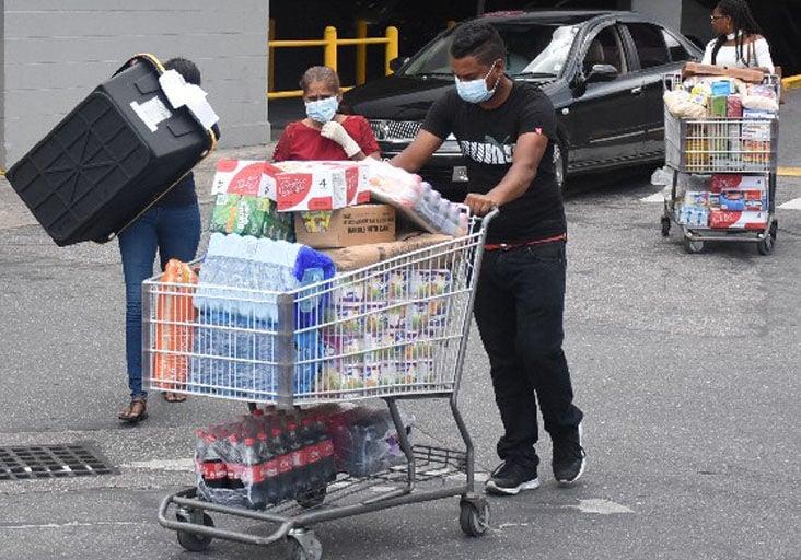 panic shopping