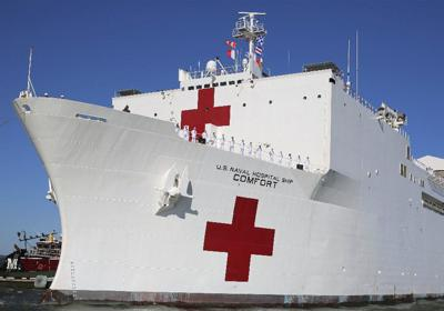 Trinis rush for help on US ship