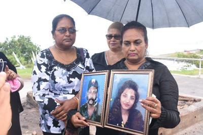Relatives of Wazir Mohammed and Shelly Ann Ragoonanan