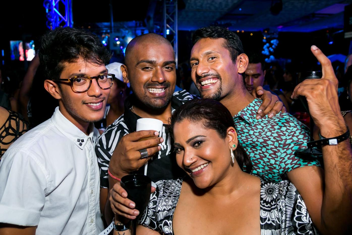 Tribe-Friends enjoy themselves at the Last ONE in 2014