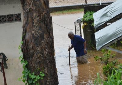 persistent rainfall