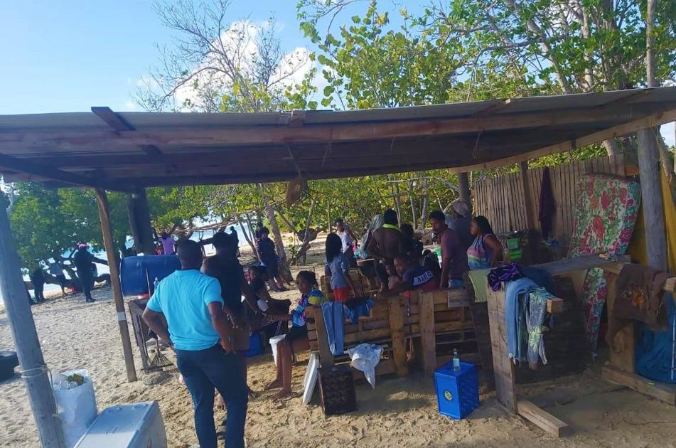 20 held at Covid beach lime in Tobago