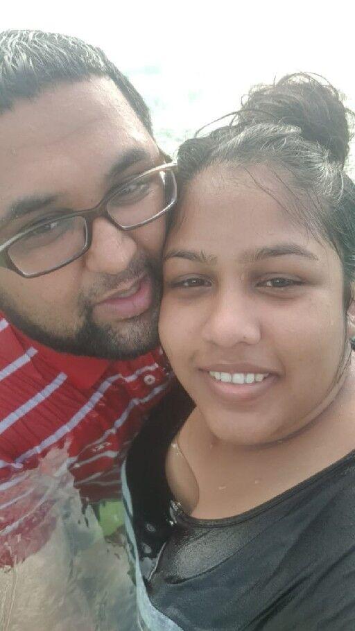 WPC Anisha Sookdeo and husband PC Vishal Harripaulsingh