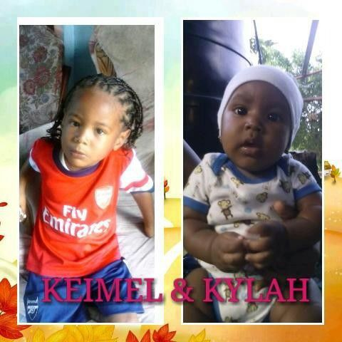 Siblings Keimel and Kylah Jacob
