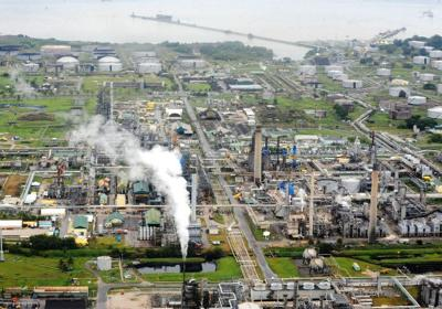 Petrotrin's Pointe-a-Pierre refinery