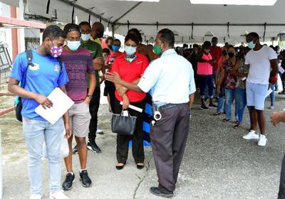 Supermarket Association of Trinidad and Tobago's vaccination drive