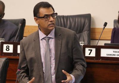 Transport Minister Rohan Sinanan-USE