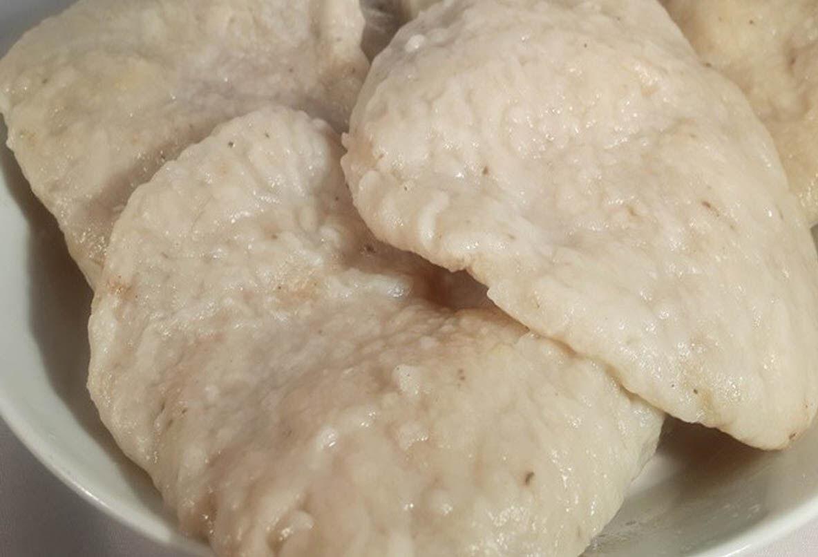 Oat dumplings.