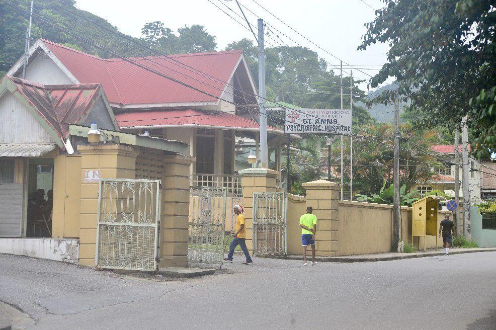 The mental health hospital at St Ann's