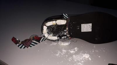 Cocaine discovered in heel of shoe.jpeg