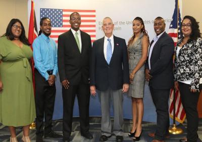 US Ambassador Joseph Mondello