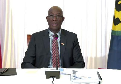 chairman of Caricom Dr Keith Rowley