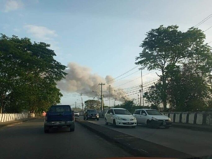 explosion at NiQuan