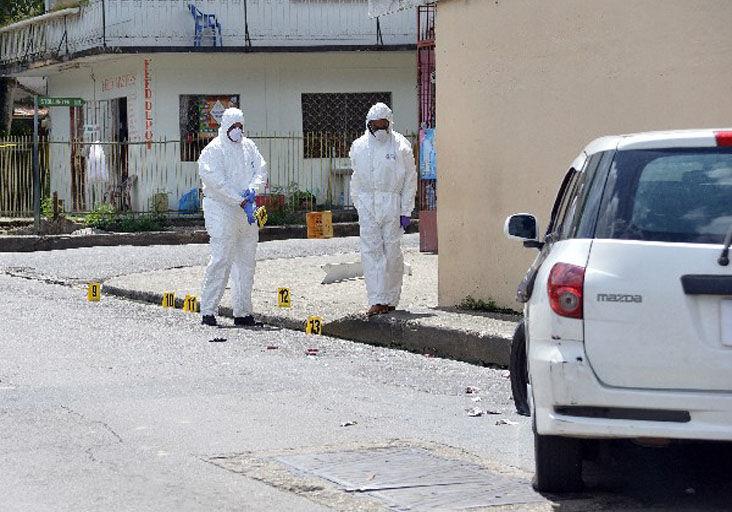 Crime scene investigators