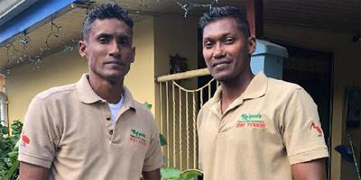 Navin and Ravi Kalpoo