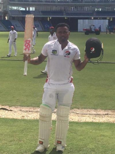T&T all-rounder Terrance Hinds
