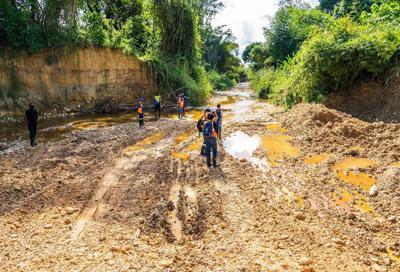 Land degradation in Maturita