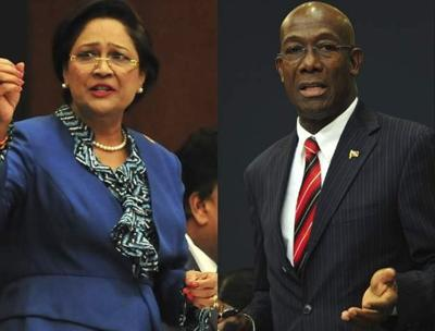 Rowley - 'Let's meet on CoP' , Kamla - 'Nope'