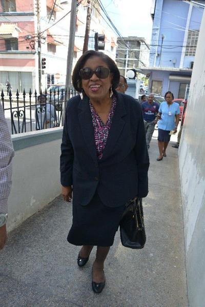 Former public administration minister Marlene McDonald