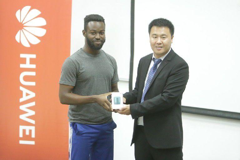 Huawei's Regional Training director Mr Jiyuan