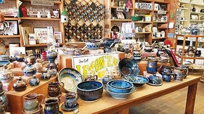 Wide Selection of Pottery at Olsen Stoneware