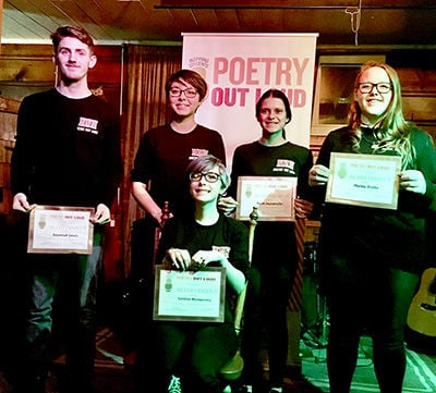 HHS poetry finalists