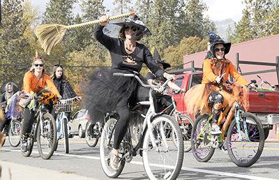 Witches Brigade bike ride