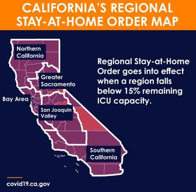 Stay-At-Home Order Map