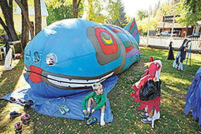 Salmon Festival fun