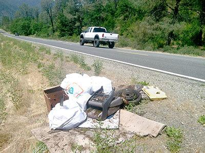Highway 299 cleanup