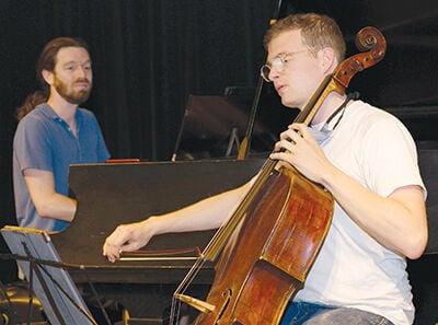 Cellist James Jaffe and pianist Ian Scarfe