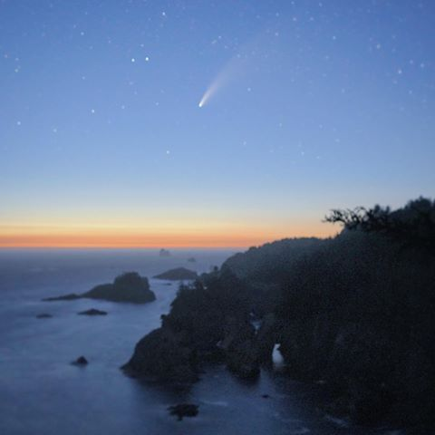 Comet Neowise Adrian Alonso 1