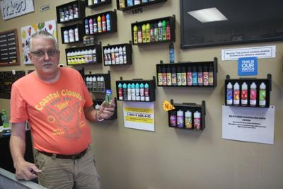 Local vaping store sees an industry under fire