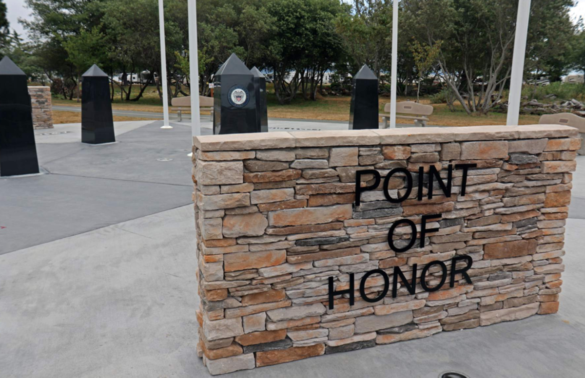 Patriotic memorial to be honored
