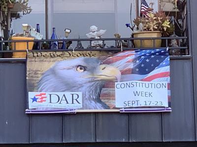 Constitutional week banner